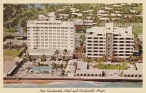 Miami Beach, Florida , 40-60s ; New Kenilworth Hotel & House