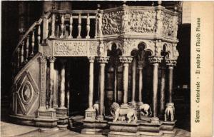 CPA SIENA Cattedrale Il Pulpito. Nicolo Pisana. ITALY (467607)