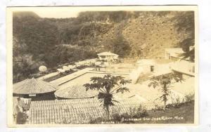 RP; Aerial View of Swimming Pool, Balneario, San Jose Purua, Michoacan, Mexic...
