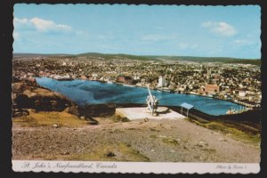 NEWFOUNDLAND - St. John's Harbour From Signal Hill - 1960s - Unused