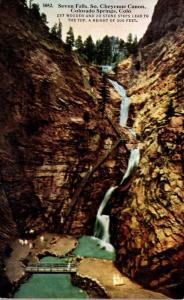 Colorado Colorado Springs Seven Falls South Cheyenne Canon