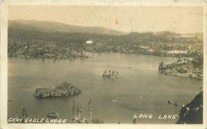 Blairsden California 1920s Plumas Gray Eagle Lodge RPPC Photo Postcard 21-5972