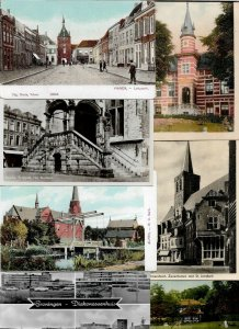 Netherlands Vianen Gouda Oudshoorn and more Postcard Lot of 20 with RPPC 01.08