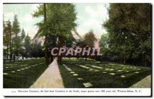 Winston Salem, North Carolina- the Moravian Cemetary Cemetary best kept in th...
