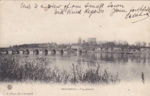 BEAUGENCY, Loiret, France, 1900-1910's; Vue Generale