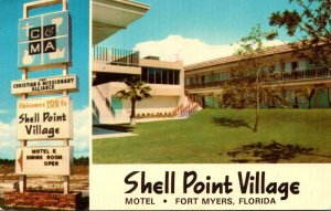 Florida Fort Myers Shell Point Village Motel 1975