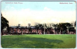 WETHERFIELD, Connecticut  CT    CONNECTICUT STATE PRISON  ca 1910s    Postcard
