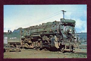 NY NEW YORK Central Railroad Train HARMON Postcard PC