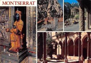 Spain Montserrat Church Interior Statue Eglise