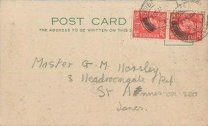British correspondence post card