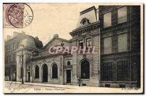 Old Postcard Lille Bank Caisse d & # 39Epargne