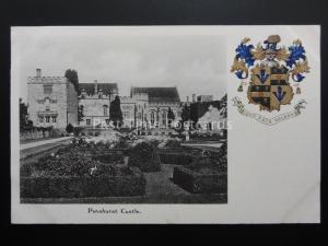 Kent Coat of Arms PENSHURST CASTLE c1904 by C W Faulkner & Co