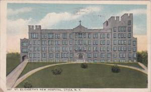 New York Utica St Elizabeth's New Hospital 1918