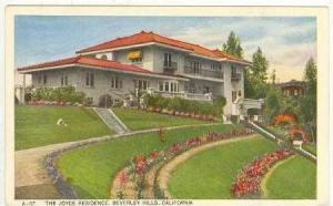 Joyce Residence, Beverley Hills, California, 1910-20s