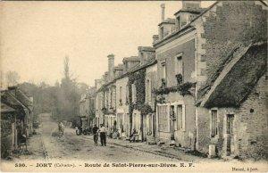 CPA JORT Route de St-Pierre-sur-Dives (809564)