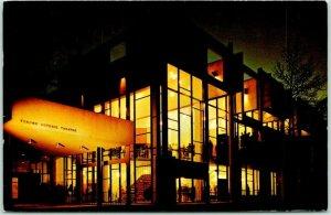 Minneapolis, Minnesota Postcard TYRONE GUTHRIE THEATRE Walker Art Center 1966
