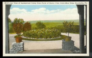 Buena Vista Hotel Cumberland Valley PA unused c1930's