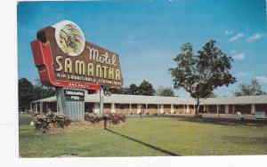 Motel Samantha , OXFORD , Alabama , PU-1961