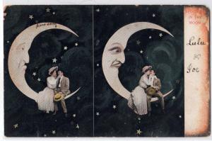 Lovers in the Moon