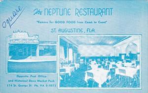 Florida Saint Augustine The Neptune Restaurant