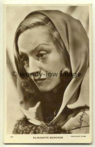 b0966 - Film Actress - Elisabeth Bergner - postcard