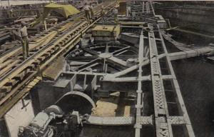 Panama Canal Zone Machinery For Opening and Closing One Leaf Of The Lock Gate