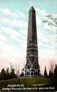 New York Schuylerville The Saratoga Monument