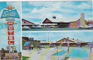 Oklahoma Tulsa Saratoga Motor Hotel 1963