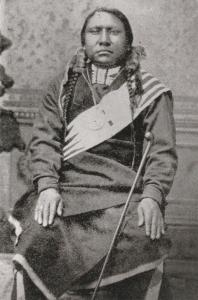 Native American Indian OURAY Postcard Ute History
