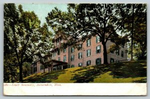 Auburndale Massachusetts~Lasell Female Seminary~Finishing School~College~1906 PC