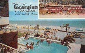 The Georgian Terrace St Petersburg, Florida Postcard