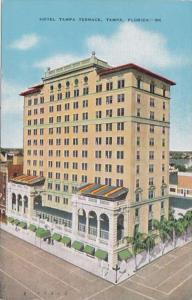 Florida Tampa Hotel Tampa Terrace 1952