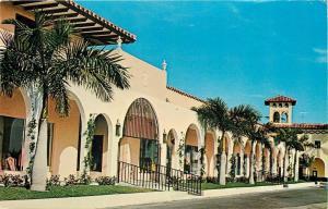 Boca Raton Florida~Unique Royal Palm Plaza Shopping Mall~Pink Plaza~1968
