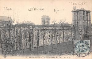 France Vincennes - Vue d'Ensemble du Fort 1905