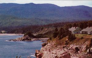 View at Keltic Lodge looking toward Ingonish,  Cape Breton,   Nova Scotia,  C...