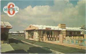Motel 6, 921 South Beach Blvd. Anaheim, California, CA, Chrome