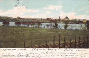 Ljusdal fran Lillhaga , Sweden , PU-1906