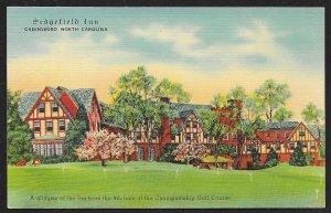 Sedgefield Inn Greensboro North Carolina Unused c1930s