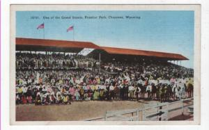 Cheyenne, Wyoming,  Early View of The Grand Stands, Frontier Park