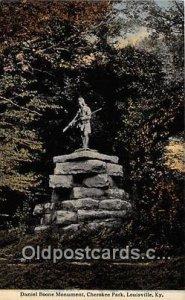 Daniel Boone Monument Louisville, KY, USA Unused