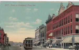 Indiana Peru Trolley On Broadway