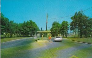 Military Main Entrance L G Hanscom Field Bedford Massachusetts