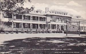 Administration Building The Chaplain School Fort Slocum New York Artvue