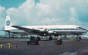 Pan American Airways Douglas DC6B At Miami International Airport In 1958