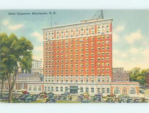Linen HOTEL SCENE Manchester New Hampshire NH AE1745