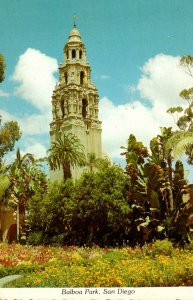 California San Diego Balboa Park The California Tower