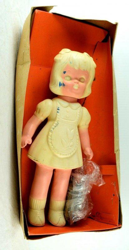 1966 The Color-Me Doll Romper Room Doll w/ Box Vintage Original