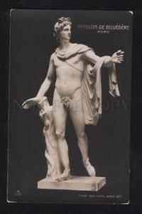 057450 NUDE Young Man. APOLLON. Roma Vintage Photo