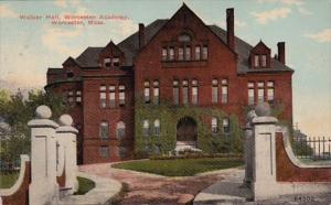 Massachusetts Worcester Walker Hall Worcester Academy