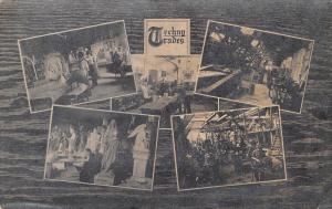 Techny Illinois~Interior of Technical School~Techny Trades~Workshops~1912 RPPC